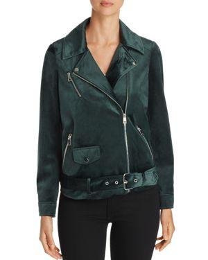 Vero Moda Orlon Velvet Motorcycle Jacket