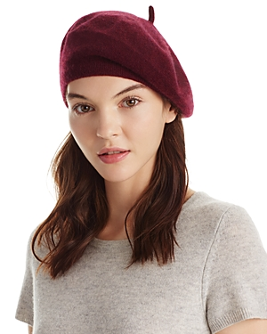 C by Bloomingdale's Angelina Cashmere Beret - 100% Exclusive