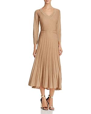 Nic+Zoe Dress Shimmer Pleated Dress