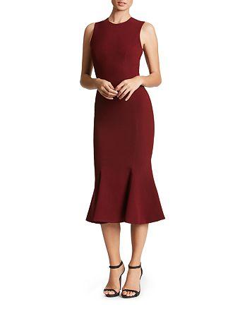 Dress the Population - Robin Sheer-Back Dress
