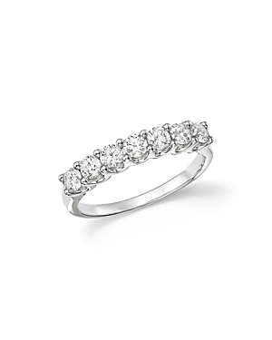 Bloomingdale's Diamond Seven Stone Band in 18K White Gold, .90 ct. t.w. - 100% Exclusive