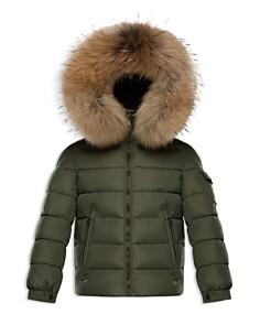 Moncler Boys' Fur-Trimmed Puffer Jacket - Big Kid - Bloomingdale's_0