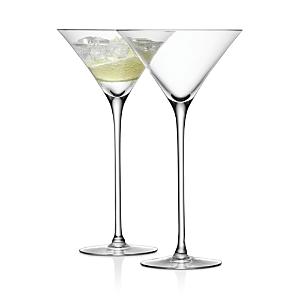 Lsa Bar Martini Glass, Set of 2