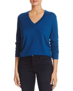 Tory Burch Marilyn V-Neck Cashmere Sweater