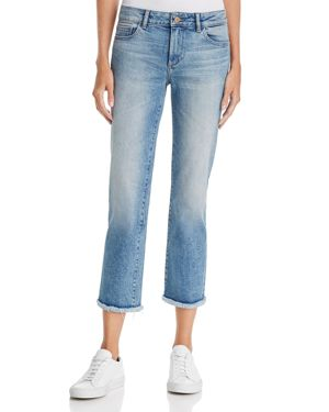 DL1961 Mara Ankle Straight Jeans in Sea Salt - 100% Exclusive