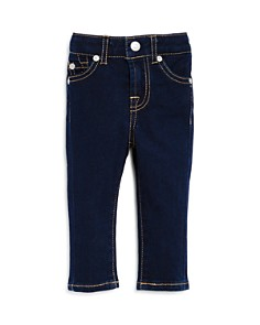7 For All Mankind - Girls' Dark-Wash Skinny Jeans - Baby