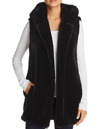 Capote - Lola Hooded Faux-Fur Vest