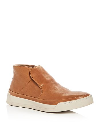 John Varvatos Star USA - Men's Remy Leather Slip-On Sneakers