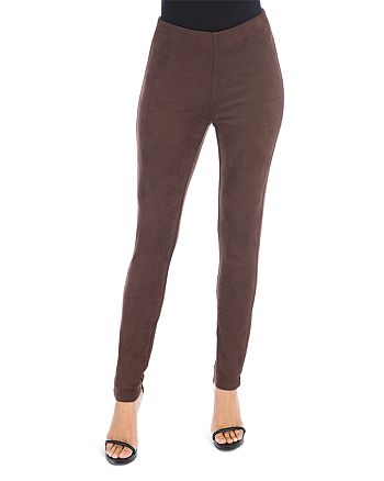 B Collection by Bobeau - Roland Faux Suede Leggings