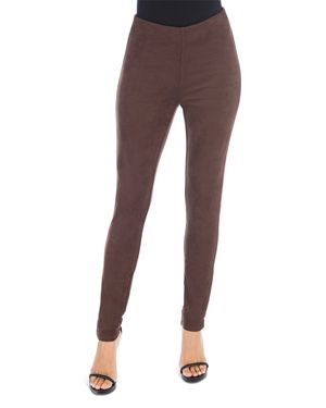 B Collection by Bobeau Roland Faux Suede Leggings