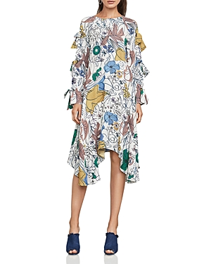 Bcbgmaxazria Cicely Floral-Print Dress at Bloomingdale's