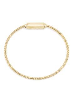 David Yurman - Barrels Bracelet with Diamonds in 18K Gold