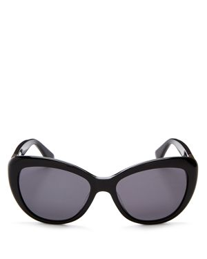 kate spade new york Emmalyn Polarized Cat Eye Sunglasses, 54mm