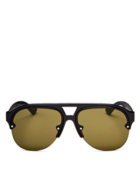 Gucci - Men s Urban Mirrored Semi Rimless Aviator Sunglasses, ... 5f5b0dac25