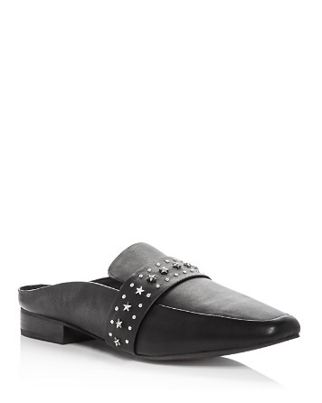 $Sol Sana Women's Renold Studded Leather Mules - Bloomingdale's