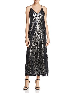 Nic+Zoe Dress Sequin Strappy-Back Dress
