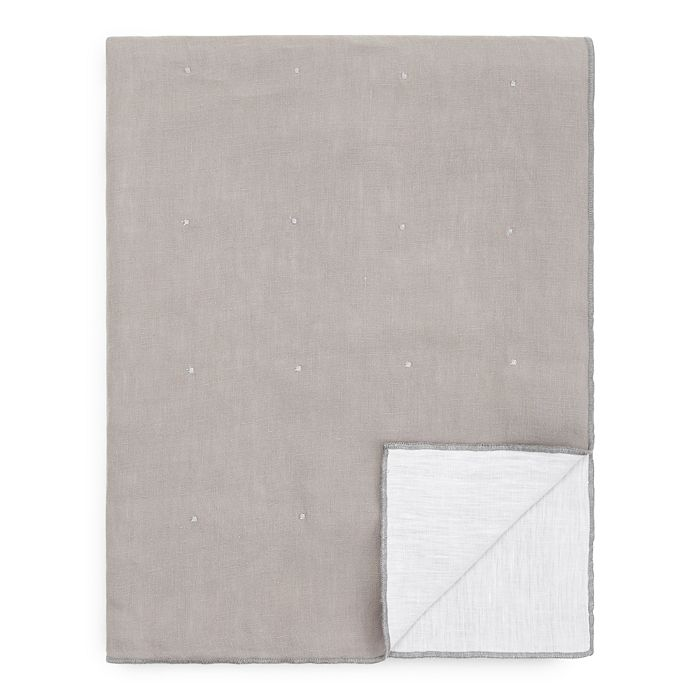 Amalia Home Collection - Reversible Linen Throw