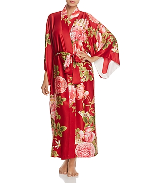 Natori Long Satin Robe