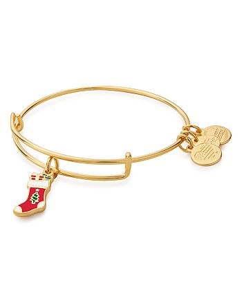 Alex and Ani - Stocking Expandable Wire Bracelet