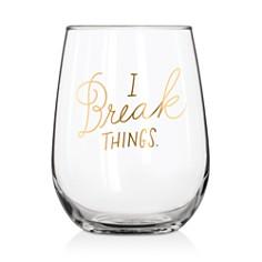 Easy Tiger Break Things Stemless Wine Glass - Bloomingdale's_0
