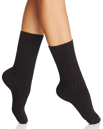 HUE - Smart Temp Ribbed Boot Socks