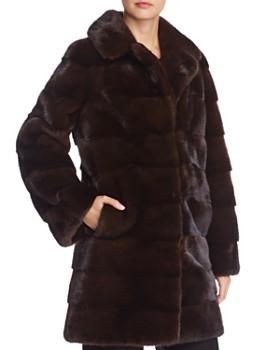 93ab37bf87e Maximilian Furs - Nafa Mink Fur Coat - 100% Exclusive ...