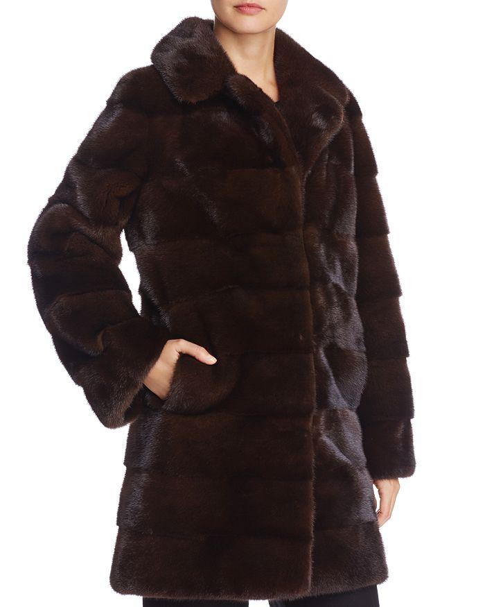 Maximilian Furs - Nafa Mink Fur Coat - 100% Exclusive