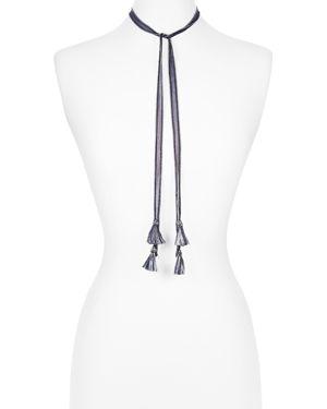 Chan Luu Tassel Necktie, 60