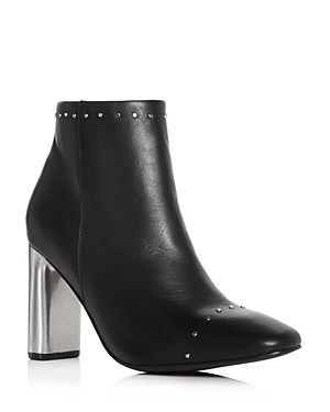 Sol Sana WOMEN'S ALICIA LEATHER EMBELLISHED BOOTIES