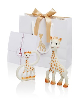 Sophie la Girafe - Sophisticated Set with Sophie la Girafe & So Pure Teether - Ages 0+
