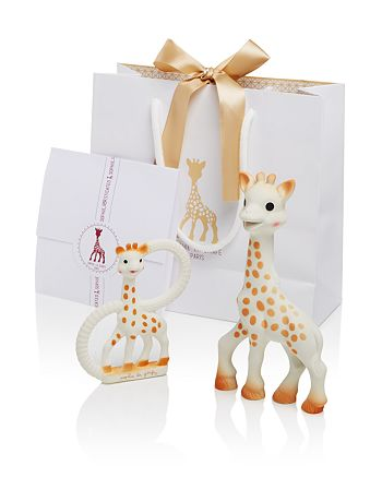 Sophie la Girafe - Sophisticated Set with  & So Pure Teether - Ages 0+