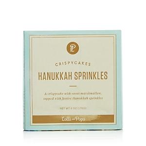 Lolli and Pops Hanukkah Sprinkles Crispy Cake