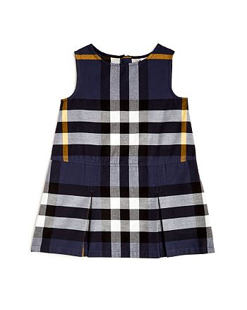 Burberry - Girls' Dawny Check Shift Dress - Little Kid, Big Kid