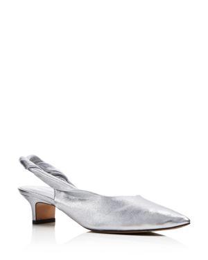 Sigerson Morrison Women's Melina Leather Kitten Heel Pumps - 100% Exclusive 2755522