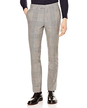 Sandro Peak Glen Check Slim Fit Dress Pants