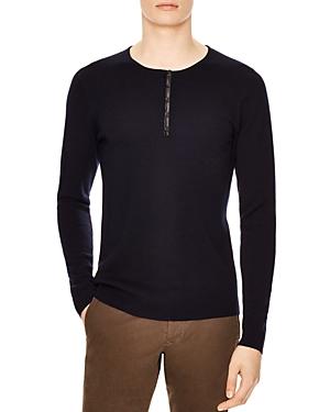 Sandro Roma Henley Sweater