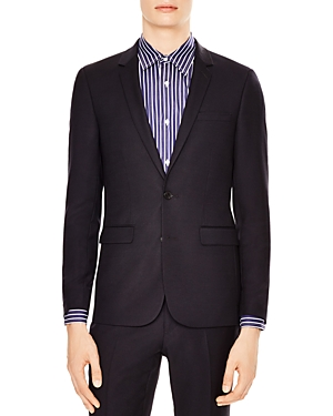 Sandro Notch Pique Slim Fit Sport Coat