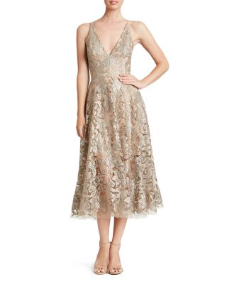 $Dress the Population Blair Sequin Lace Dress - Bloomingdale's