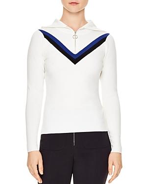 Sandro Via Hooded Sweater