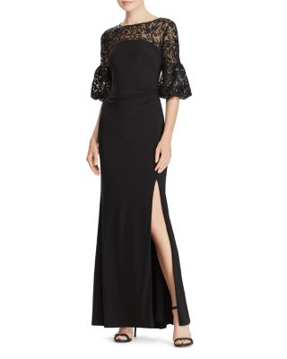 Black Jersey Gown
