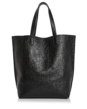 Street Level Glossy North/South Tote