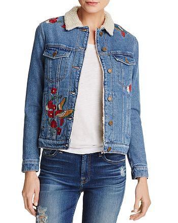 Mavi - Katy Embroidered Denim Trucker Jacket