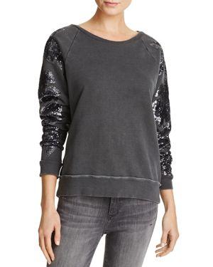 Joe's Jeans Evie Washed Sequin Sweatshirt