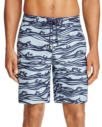 SURFSIDESUPPLY - Wave Print Board Shorts