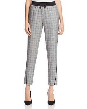 Kenneth Cole Plaid Jogger Pants