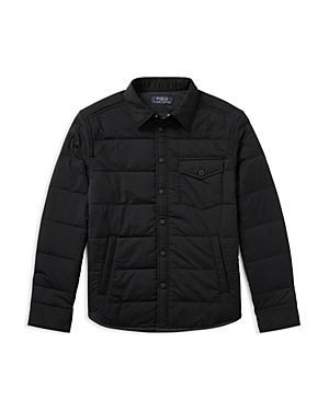 Ralph Lauren Childrenswear Boys' Quilted Workshirt Jacket - Big Kid