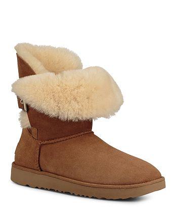 0cd9e3b9915 UGG® Women's Jaylyn Sheepskin & Leather Booties   Bloomingdale's