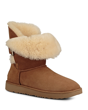 Ugg Women's Jaylyn Sheepskin & Leather Booties