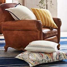 "Ralph Lauren - Morrene Stripe Decorative Pillow, 16"" x 24"""