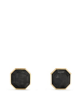 David Yurman - Forged Carbon Cufflinks in 18K Gold